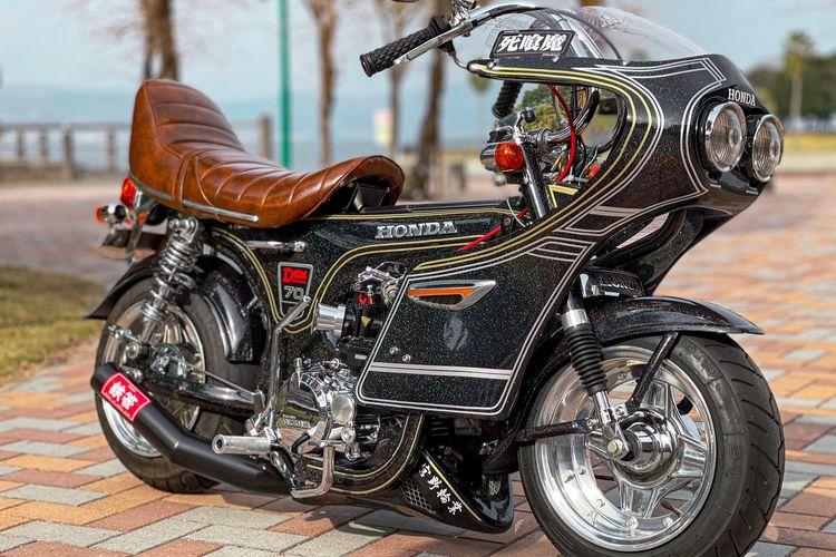 Gaya modifikasi Bosozoku pada motor-motor kecil di Thailand