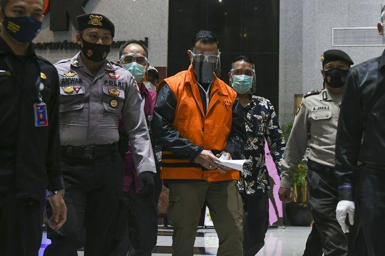 Menteri Sosial Juliari Batubara ditahan KPK