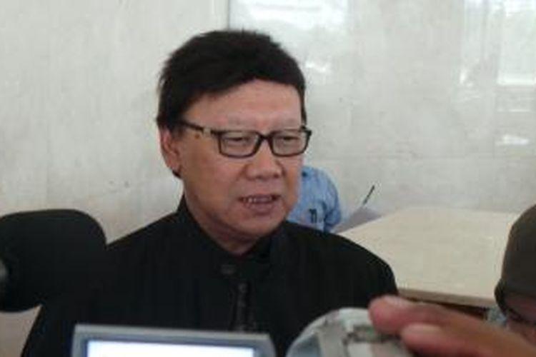 Sekjen DPP PDIP dan anggota Komisi I DPR Tjahjo Kumolo