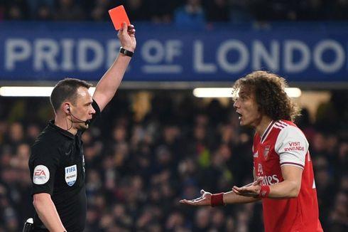 5 Fakta Menarik Chelsea Vs Arsenal, soal Kartu Merah David Luiz