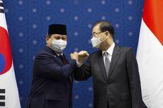 Menhan Prabowo Subianto Bertemu Menlu Korsel, Hadiri Peluncuran Jet Tempur KF-X