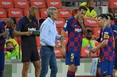 Barcelona Vs Atletico Madrid Imbang, Quique Setien Tetap Senang