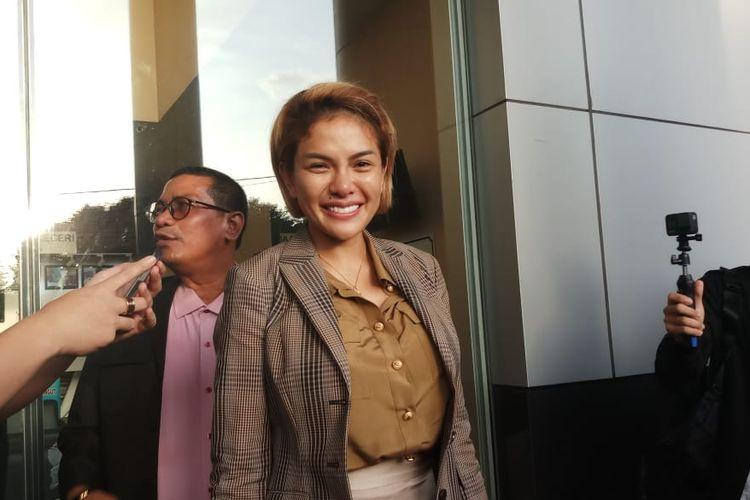 Terdakwa kasus dugaan penganiayaan, Kriss Hatta saat ditemui di Pengadilan Negri Jakarta Selatan, Selasa (5/11/2019)