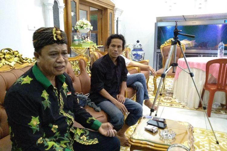 Mantan Kapolda Jawa Barat Irjen Polisi Purnawirawan Anton Charliyan di rumahnya di Kota Tasikmalaya, Jumat (17/1/2020).
