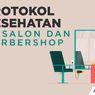 INFOGRAFIK: Protokol Kesehatan di Salon dan Barbershop