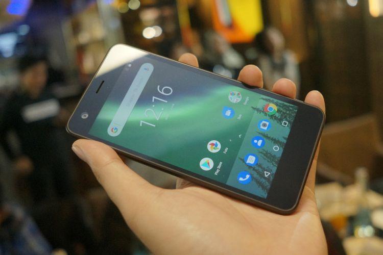 Nokia 2 resmi dijual di Indonesia, Kamis (11/1/2018).