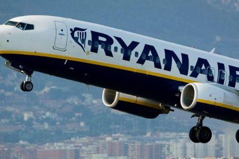 Pilot Mendadak Sakit, Pesawat Ryanair Putar Balik ke Bandara
