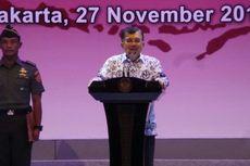 Jusuf Kalla Frustrasi Birokrasi Tak Jalan karena Takut Dituduh Korupsi