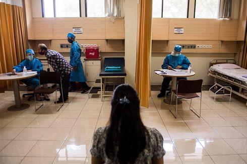 Usai Disuntik Calon Vaksin Covid-19, Pengemudi Ojek: Ngantuk Tak Tertahan