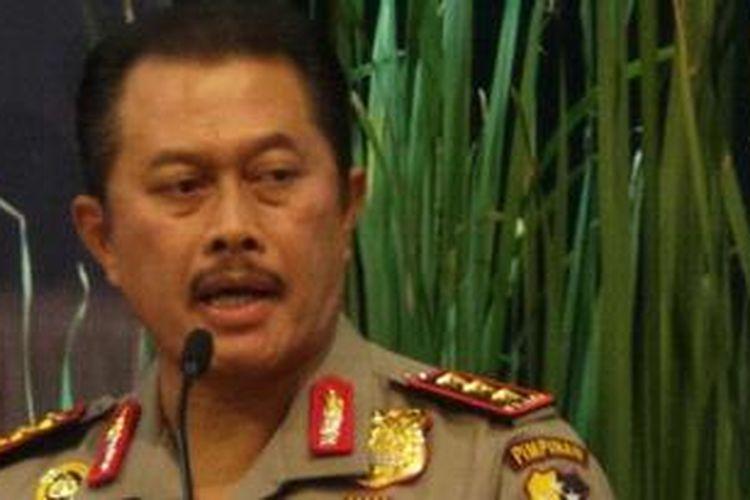 Wakil Kepala Kepolisian RI Komisaris Jenderal Nanan Sukarna.