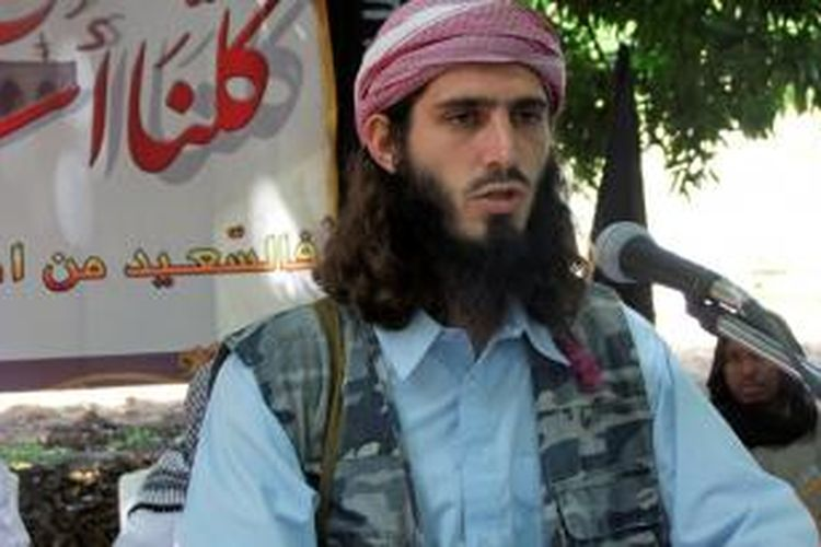 Omar Hammami, warga AS yang menjadi anggota kelompok militan Somalia, Al Shabab.