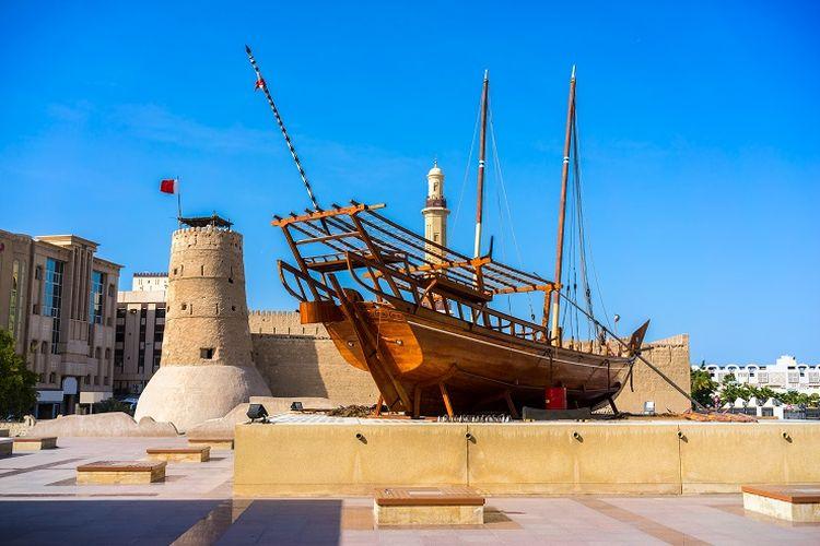 Ilustrasi Dubai - Dubai Museum.