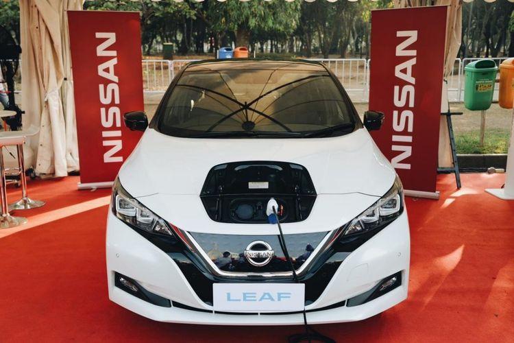 Nissan LEAF akan dipamerkan juga di IEMS 2019.