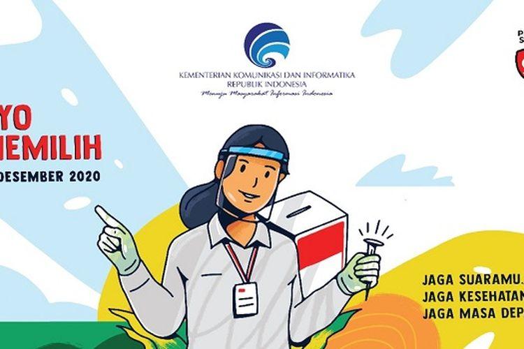 Beberapa wilayah di Indonesia akan menggelar Pilkada Serentak pada Rabu (9/12/2020).
