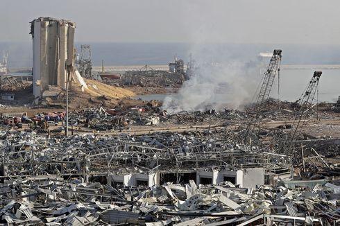 Amonium Nitrat Diduga Tak Hanya Jadi Penyebab Ledakan di Beirut, Lebanon