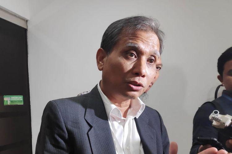 Calon pimpinan Komisi Pemberantasan Korupsi (KPK) periode 2019-2023, Roby Arya, di Gedung Kementerian Sekretariat Negara, Jakarta Pusat, Kamis (29/8/2019).