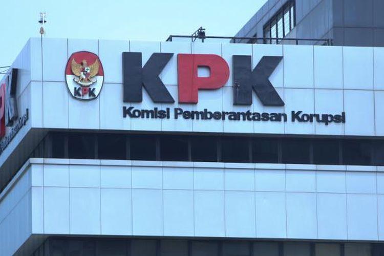 Eksterior dari Gedung Komisi Pemberantasan Korupsi di Jakarta, Selasa (28/2/2017).