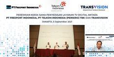 Dukung Digitalisasi Tambang, Telkom Sediakan Layanan TV Digital di Freeport Timika