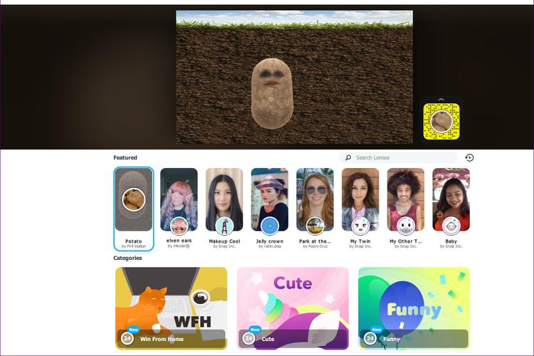 Cara menggunakan filter Snapchat di aplikasi  Zoom