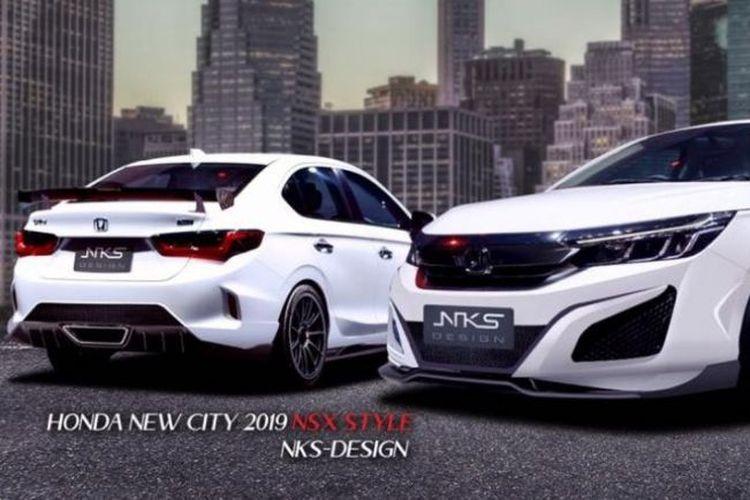 Honda City Body Kit NSX