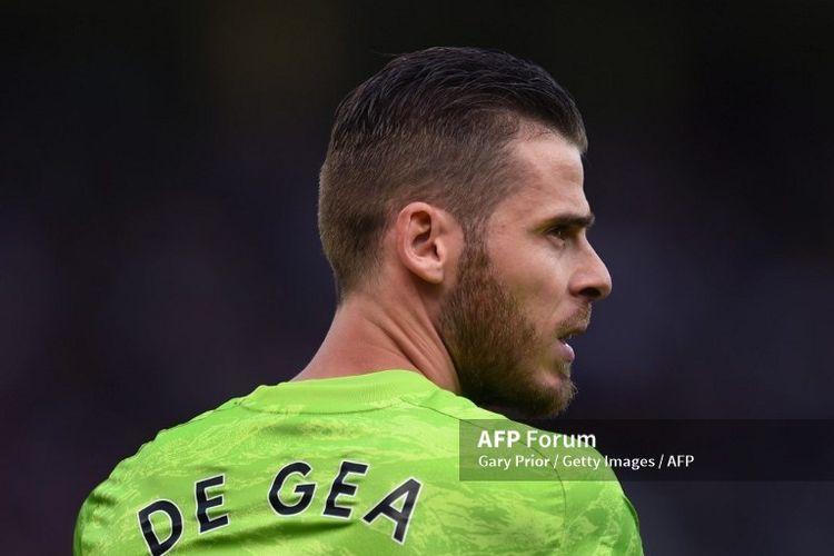 Kiper Manchester United, David De Gea, perpanjang kontrak hingga 2023.