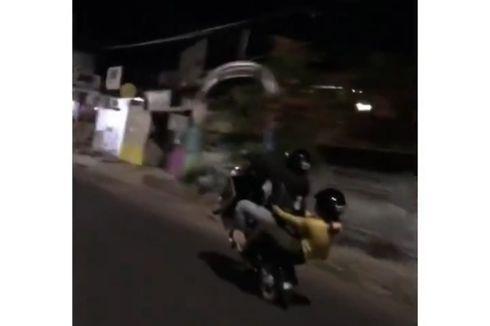 2 Pengendara di Makassar Ugal-ugalan di Jalan, Polisi: Sudah Kelewatan