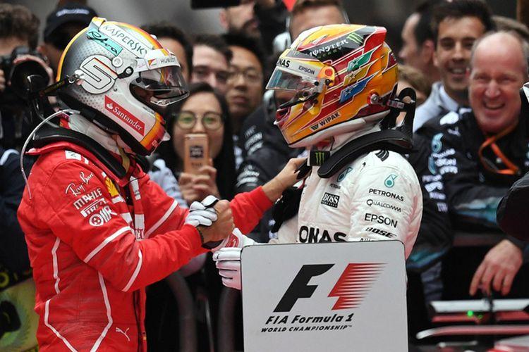Vettel dan Hamilton GP China