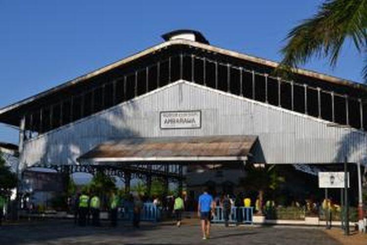 Museum Kereta Api Ambarawa di Jawa Tengah