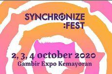 Siap-siap, Synchronize Fest Bakal Digelar Oktober 2020