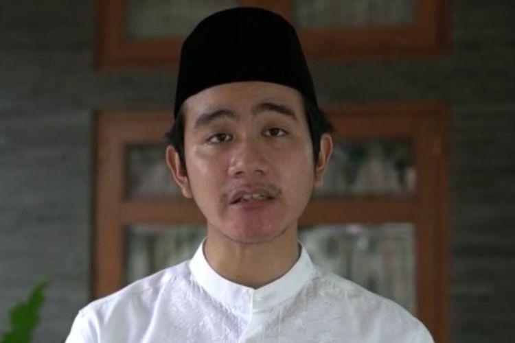 Putra sulung Presiden Jokowi, Gibran Rakabuming Raka.