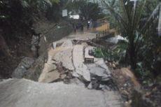 Longsor Terjang Bogor, Jalan Penghubung Antar Kecamatan Terputus