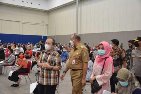 Antrean Vaksinasi Massal di ICE BSD Malah Timbulkan Kerumunan, Satgas: Kemarin Desak-desakan, Hari Ini Tertib...