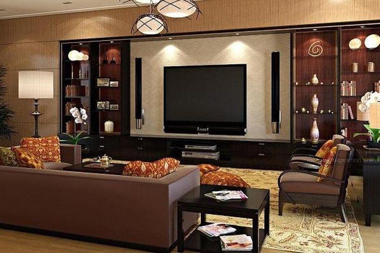 Ilustrasi: interior ruangan.