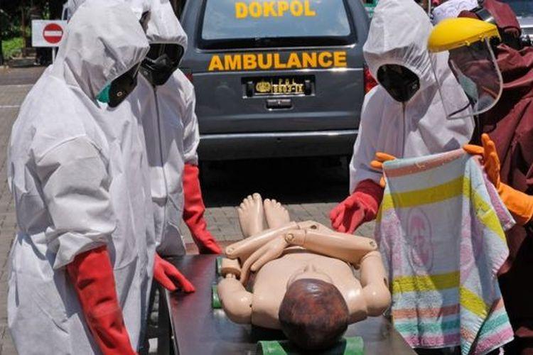 Pasien PDP yang meninggal diperlakukan layaknya pasien meninggal akibat positif Covid-19.