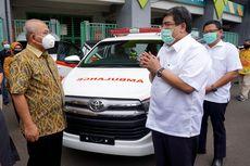 Toyota Serahkan Innova Ambulans buat Pemkot Bekasi