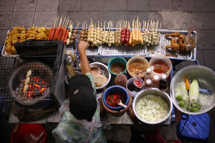 Street food di Bangkok, Thailand