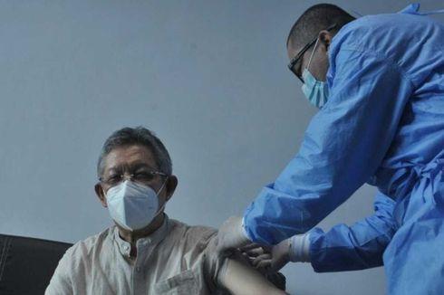 Tenaga Kesehatan Kategori Lansia di Sumsel Mulai Disuntik Vaksin