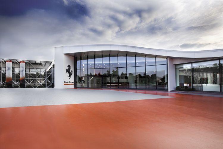 Museum Enzo Ferrari Maranello Italia