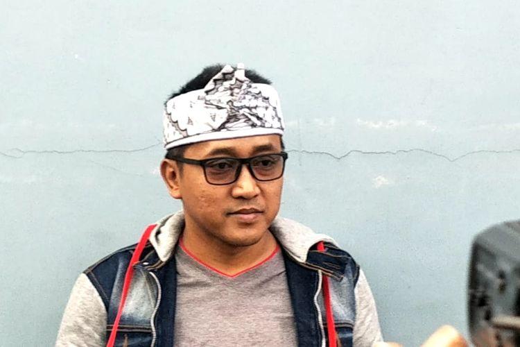 Tedy Pardiyana saat ditemui di kawasan Tendean, Jakarta Selatan, Senin (10/2/2020).