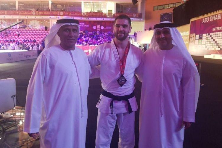 Atlet Judo Israel, Peter Palchick merasakan angin perubahan saat mengikuti turnamen internasional di Abu Dhabi, pada Oktobert 2018