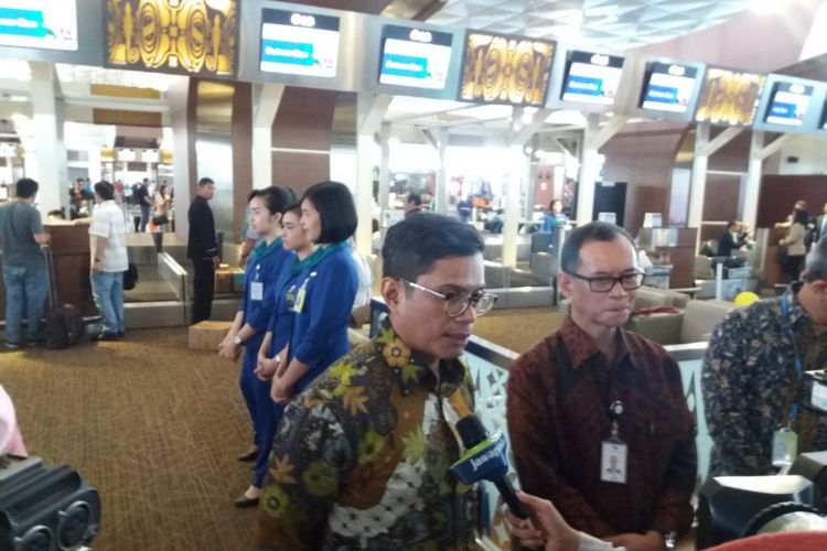 Direktur utama Garuda Indonesia Pahala N Mansury