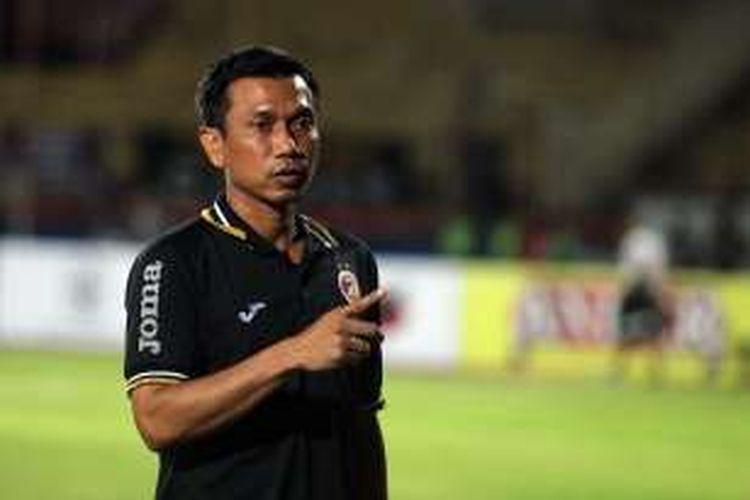 Pelatih Sriwijaya FC, Widodo C Putro.
