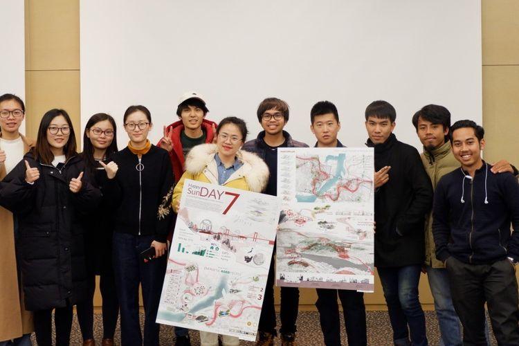 Ivan Danny Dwi Putra, mahasiswa pascasarjana ITB jurusan Rancang Kota berhasil meraih peringkat pertama kompetisi Low Carbon Design di Kitakyushu, Jepang yang berlangsung 15 Februari sampai 1 Maret 2019.