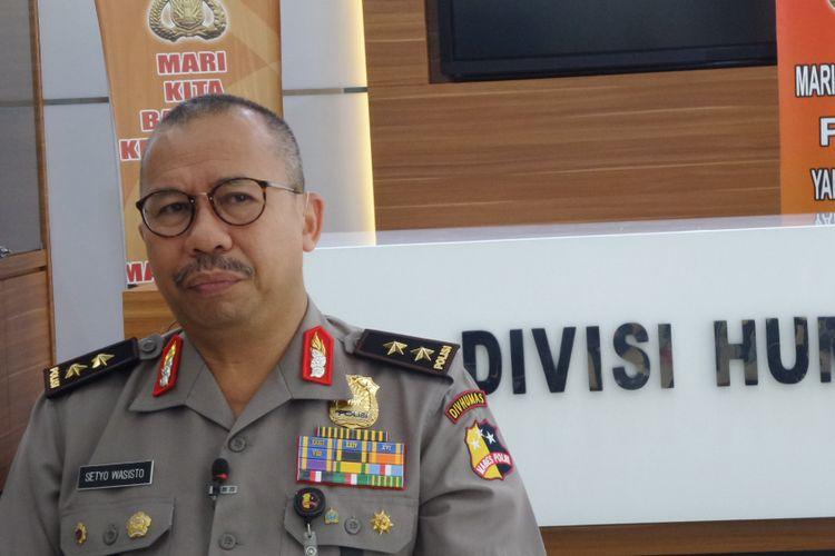 Kepala Divisi Humas Polri, Irjen Setyo Wasisto