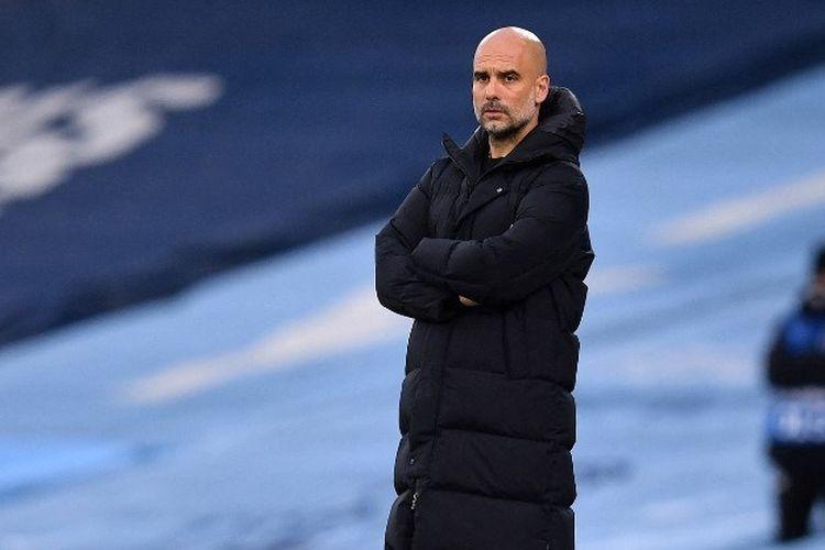 Pelatih Manchester City, Pep Guardiola, kembali ke partai final Liga Champions setelah membawa timnya menang 2-0 pada laga leg kedua semifinal kontra PSG (4-1 agregat), Rabu (5/5/2021) dini hari WIB.