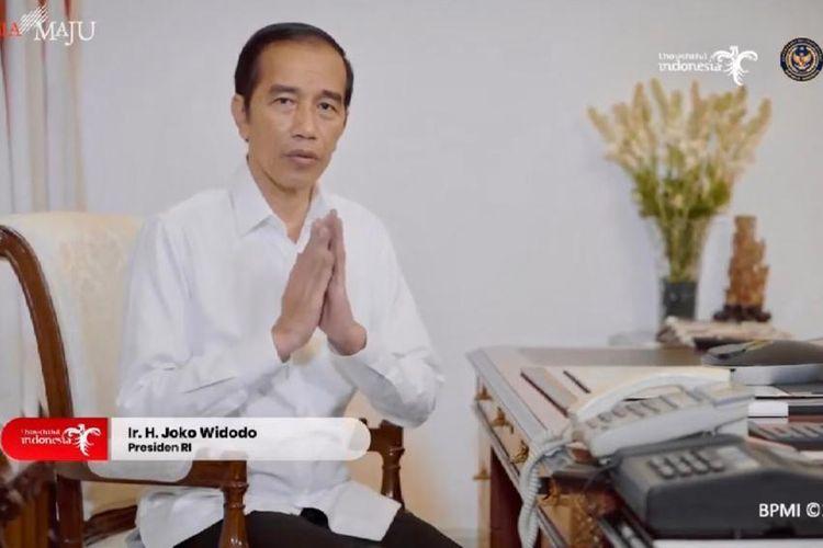 Presiden Indonesia, Joko Widodo mengapresiasi Konser Solidaritas Bersama Jaga Indonesia, Sabtu (16/5/2020).