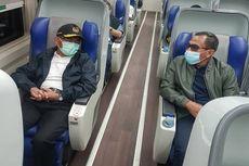 Sebelum Lakukan Perjalanan Dinas, Menko PMK Muhadjir Effendy Tinjau Penggunaan GeNose C19 di Stasiun Gambir