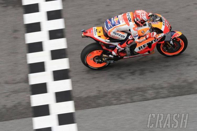 Marc Marquez di MotoGP Malaysia 2018
