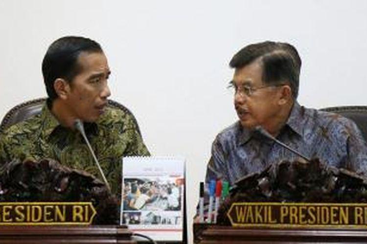 Presiden Joko Widodo dan Wakil Presiden Jusuf Kalla.