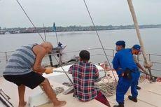 Kapal Yacht Australia yang Dibegal Ditarik Kapal Nelayan ke Jakarta